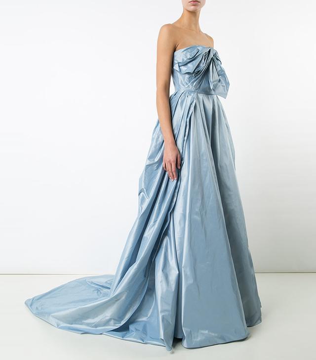Carolina Herrara Faille Ball Gown