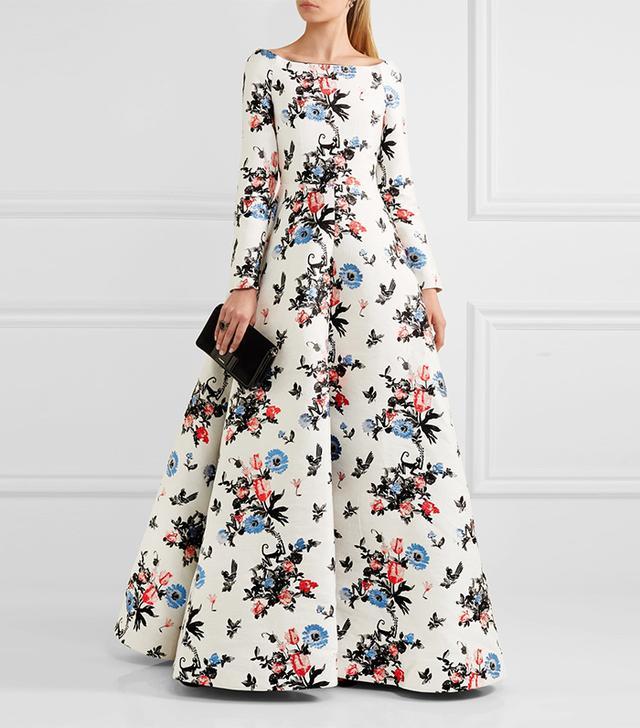 Valentino Brocade Gown