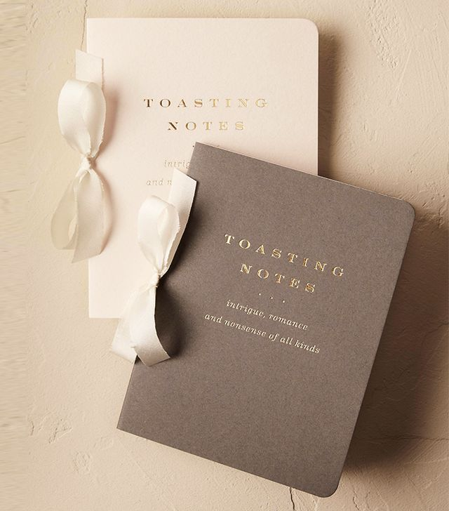BHLDN Toasting Notes Journal