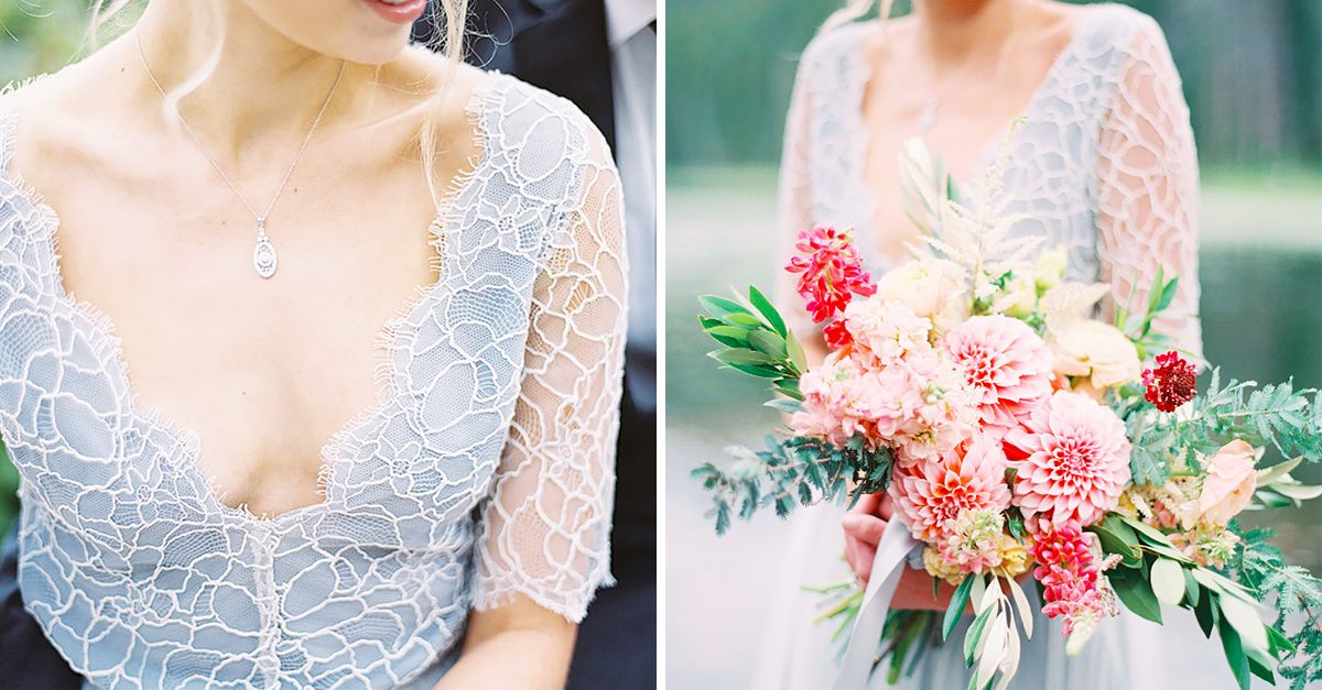 Colourful Wedding Dresses | WhoWhatWear AU