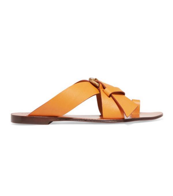 Best sandals: Chloe Nils leather sandals