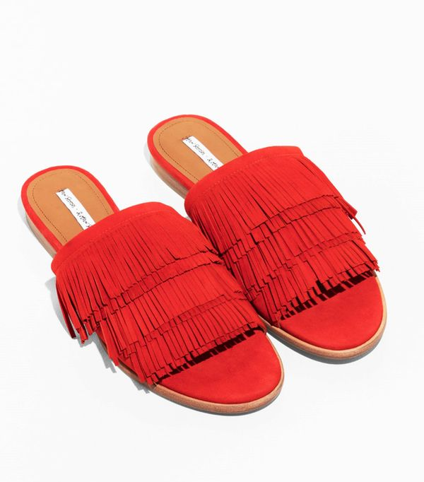 Best sandals: Red & Other Stories sandals
