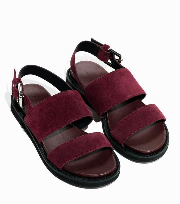 Best sandals: & Other Stories raw edge sandals