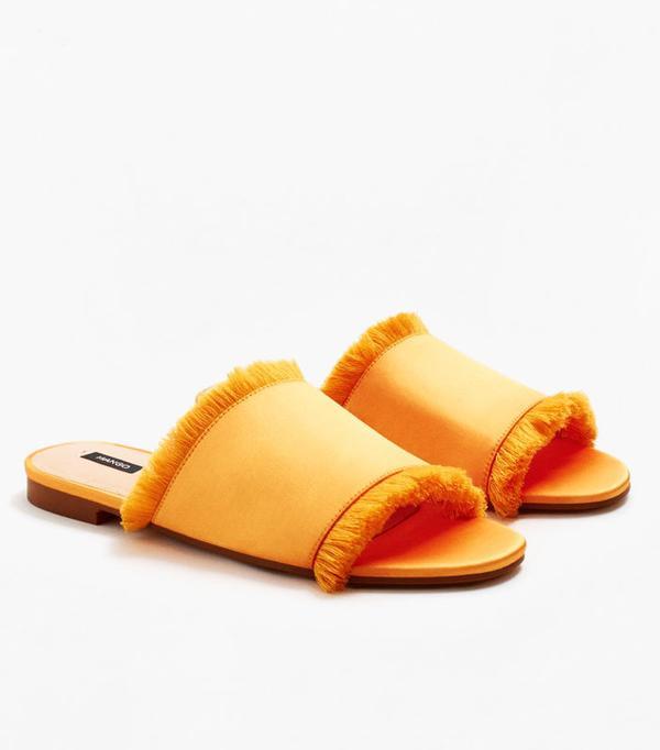 Best sandals: Mango Satin Sandals