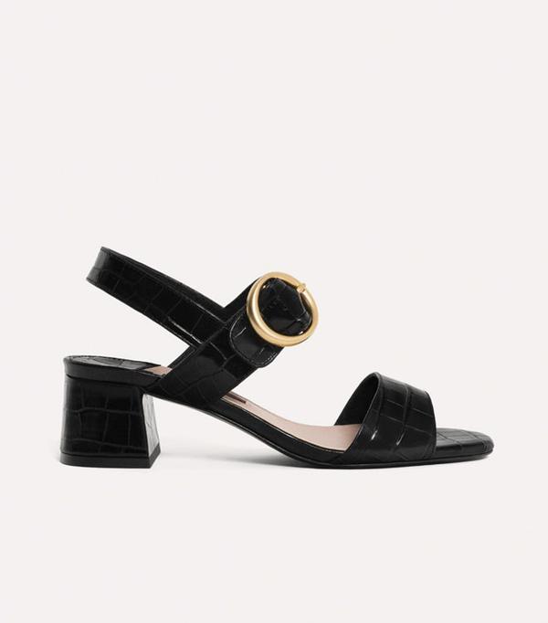 Best sandals: Uterque block sandals