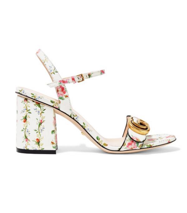 Best sandals: Gucci block sandals