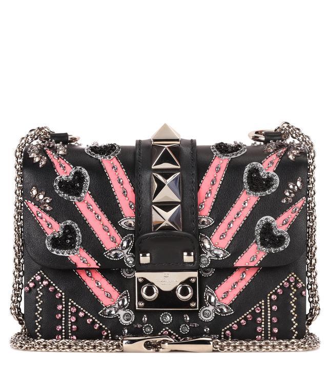 Valentino Lock Mini Loveblade Shoulder Bag