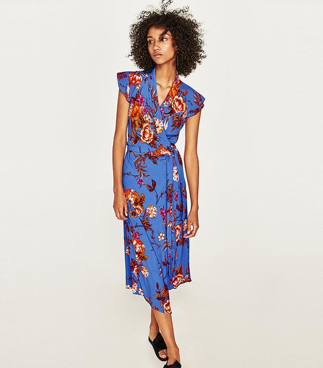 Zara Asymmetric Length Dress