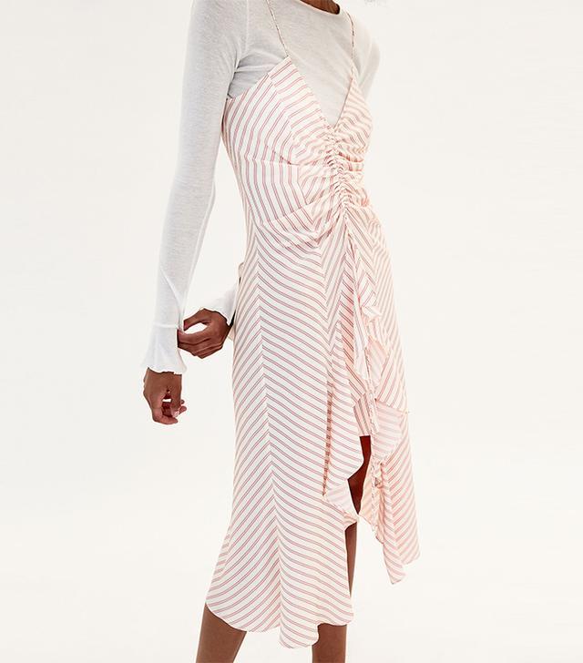 Zara Strappy Asymmetric Dress