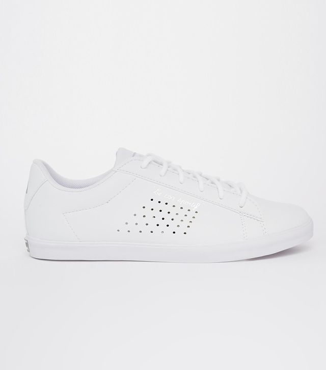 Le Coq Sportif White Leather Agate Lo Sneakers