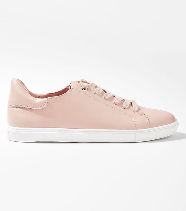 CATSEYE Satin Lace-up Trainers