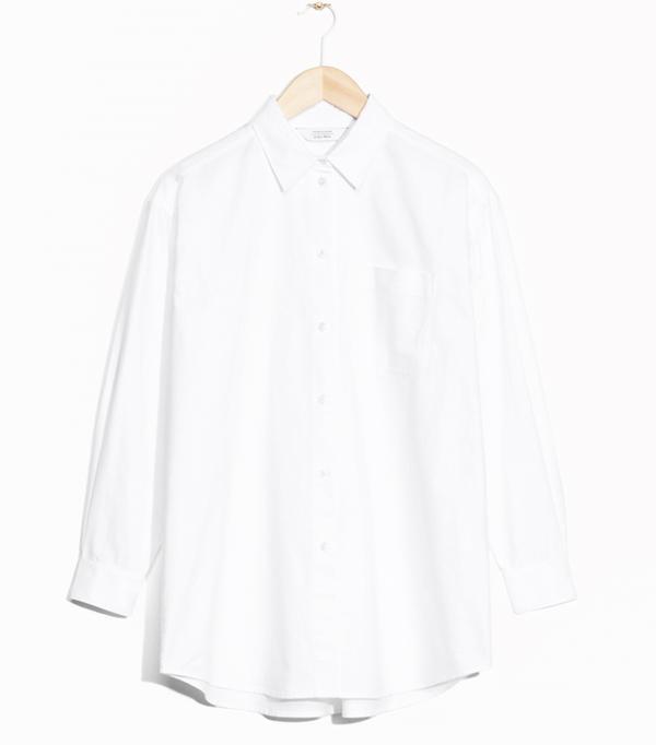 Heatwave Fashion:  & Other Stories Oversized Shirt