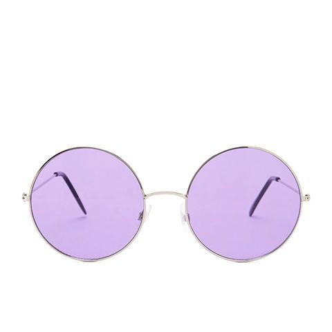 Tinted Round Glasses