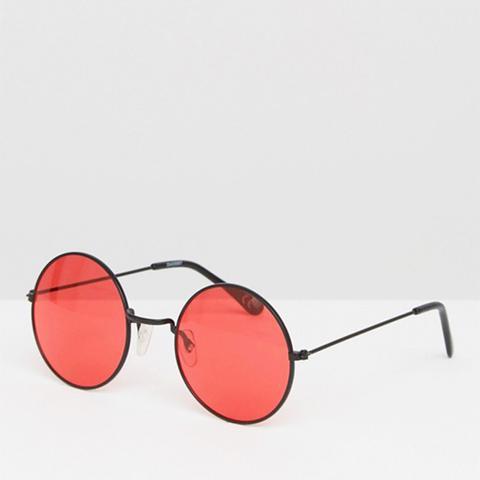 Metal 90s Round Sunglasses