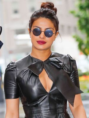 Leather in the Summer? Priyanka Chopra Shows How It's Done