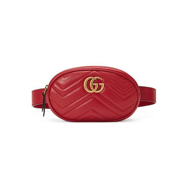GG Marmont matelassé leather belt bag
