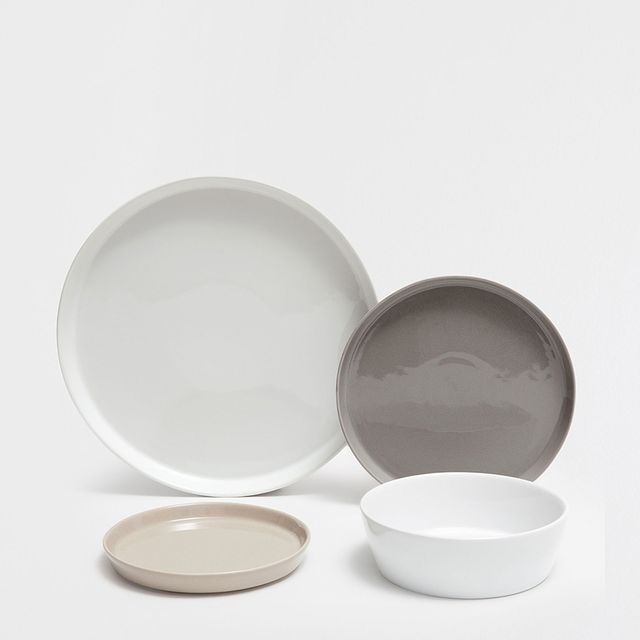 Zara Home Mutlicoloured Stoneware Dinner Plate