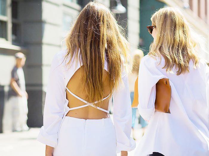 flattering summer outfit
