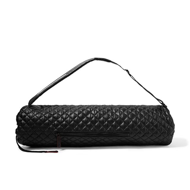 Yoga benefits: MZ Wallace Metro Matt quilted shell yoga bag