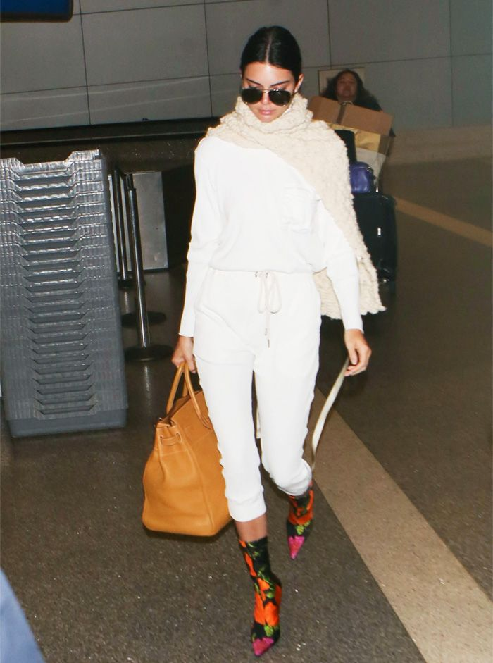 Kendall Jenner Nice airport outfit