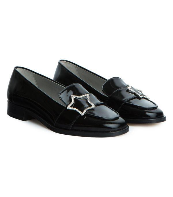 Alexa Chung fashion brand: star loafers