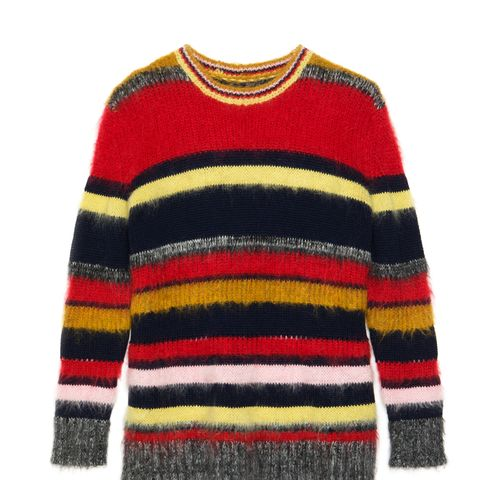 Stripy Mohair Jumper