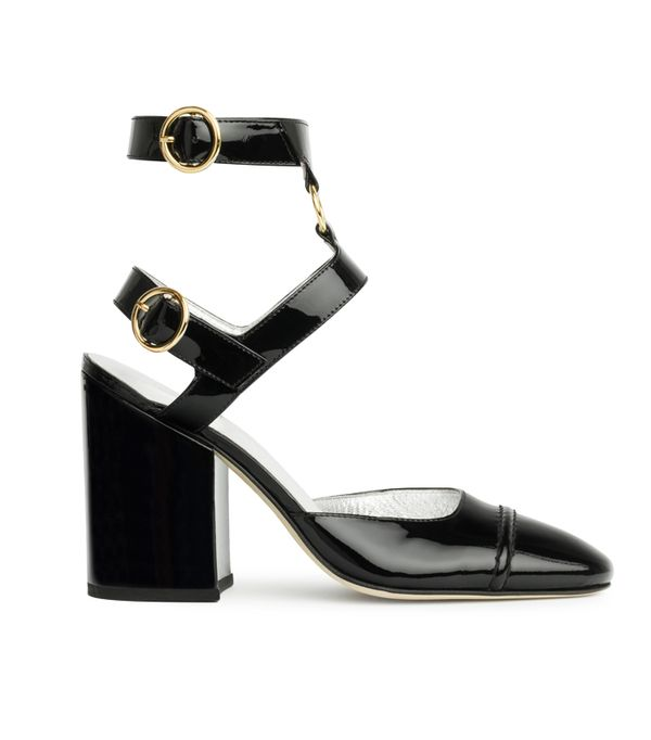 Alexa Chung fashion brand: Ankle strap loafers