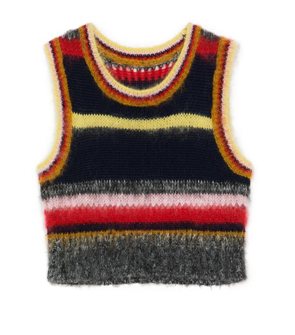 Alexa Chung fashion brand: Mohair striped top