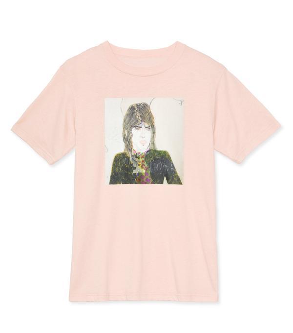 Alexa Chung fashion brand: Pink t shirt