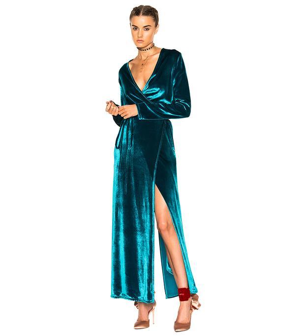 Celebrity Diy Wrap Dress Inspiration Whowhatwear