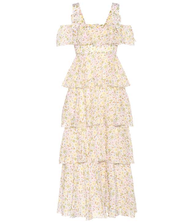 AlexaChung Floral-Printed Dress