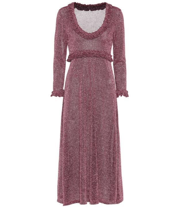 AlexaChung Metallic Dress