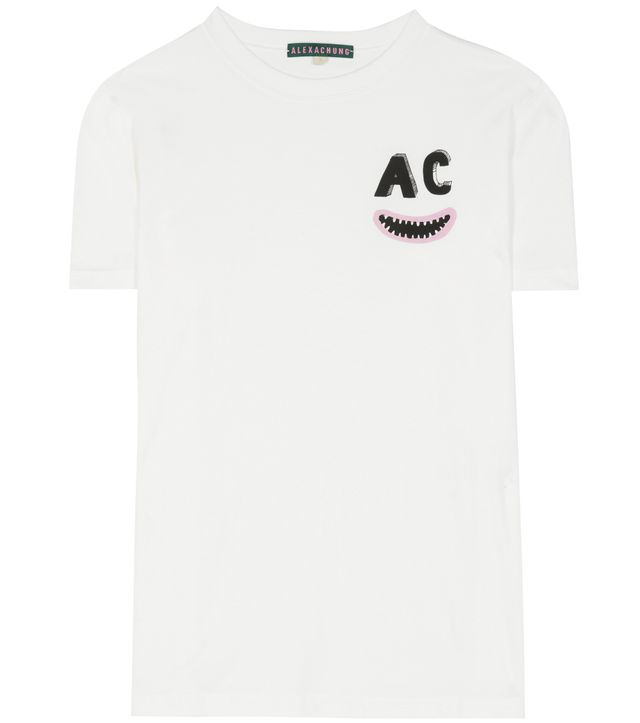 AlexaChung Printed Cotton T-Shirt