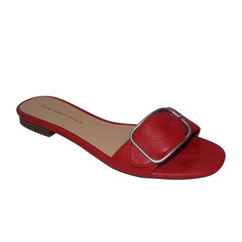 Emma Buckle Slid Sandals
