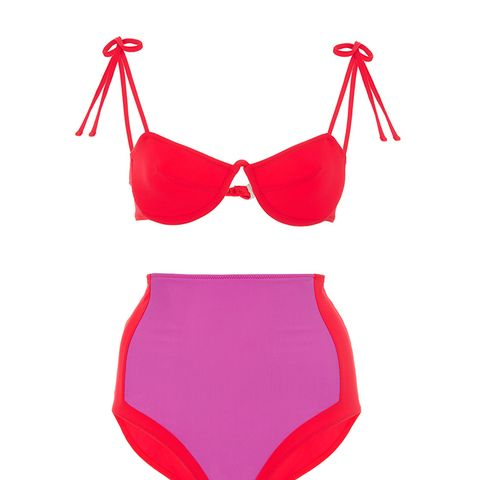 Myriam Tie Bikini Top