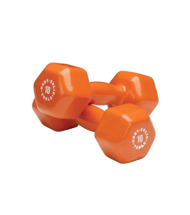 Body Solid 10 Lb Dumbbells
