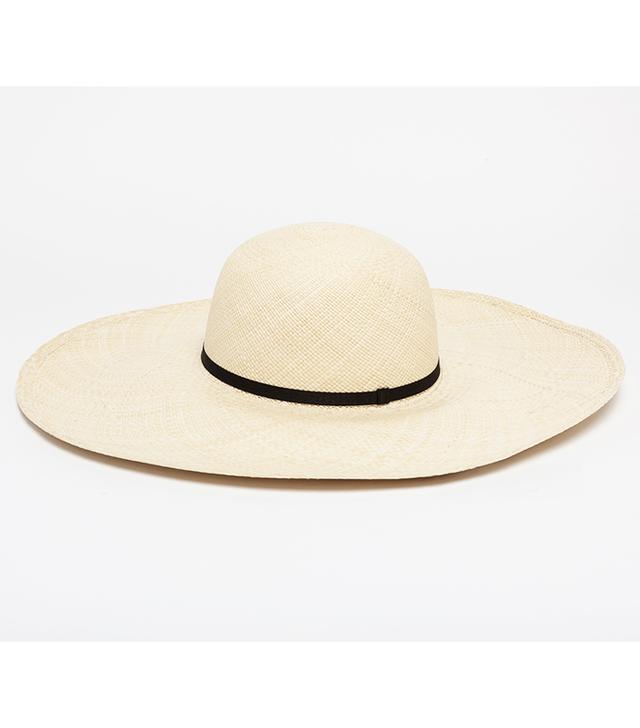 Cuyana Oversized Straw Beach Hat