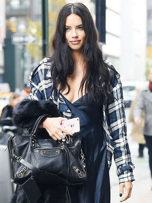 Adriana Lima Just Debuted a Pretty Wedding Ring—but There's a Twist