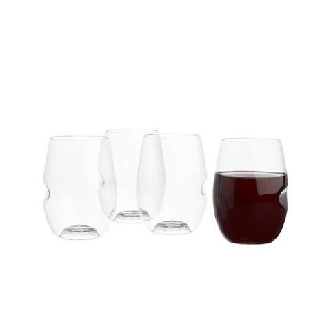 Govino Stemless Wine Glasses Set of 4