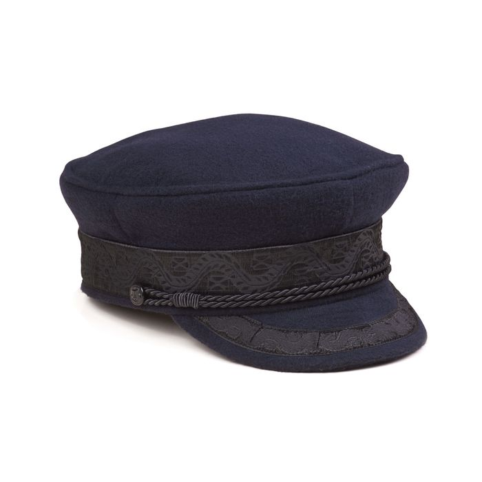 Lack Of Colour navy hat