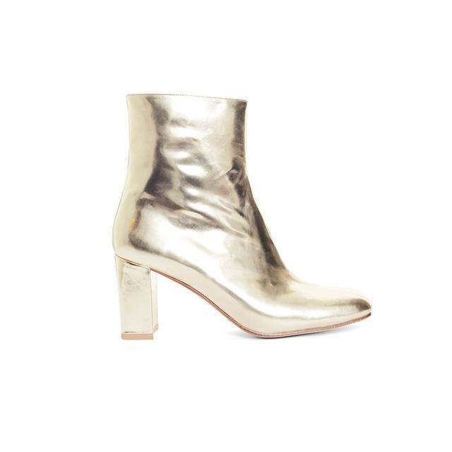 Maryam Nassir Zadeh Gold Boots