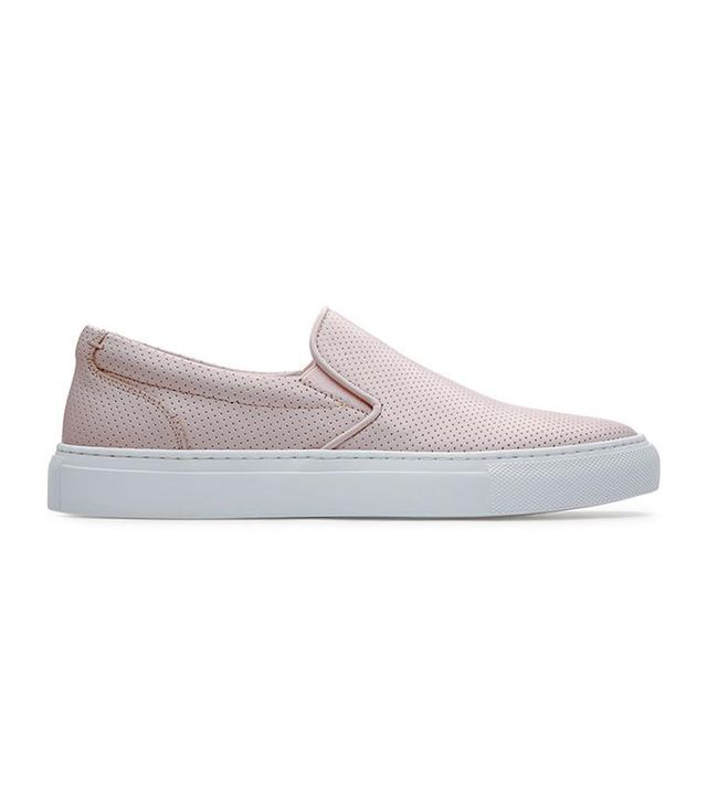 Greats The Wooster in Perforated Blush