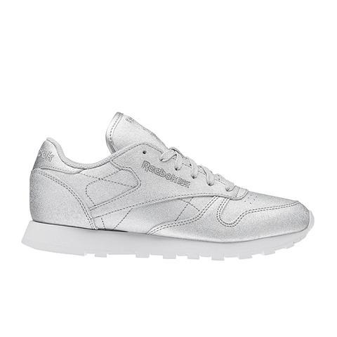 Classic Leather Diamond Sneakers