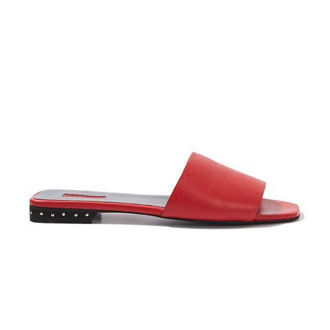 Fern Studded Heel Sliders