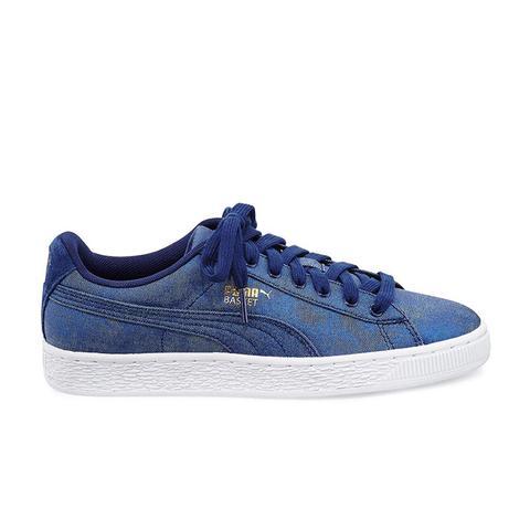 Basket Denim Sneakers