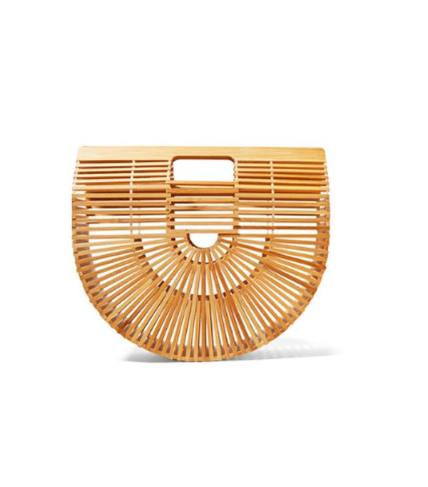 Best wedding guest accessories: Ark Large Bamboo Clutch