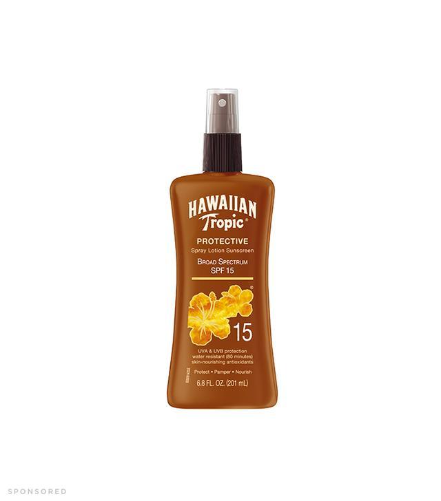 Hawaiian Tropic® Spray Lotion Sunscreen