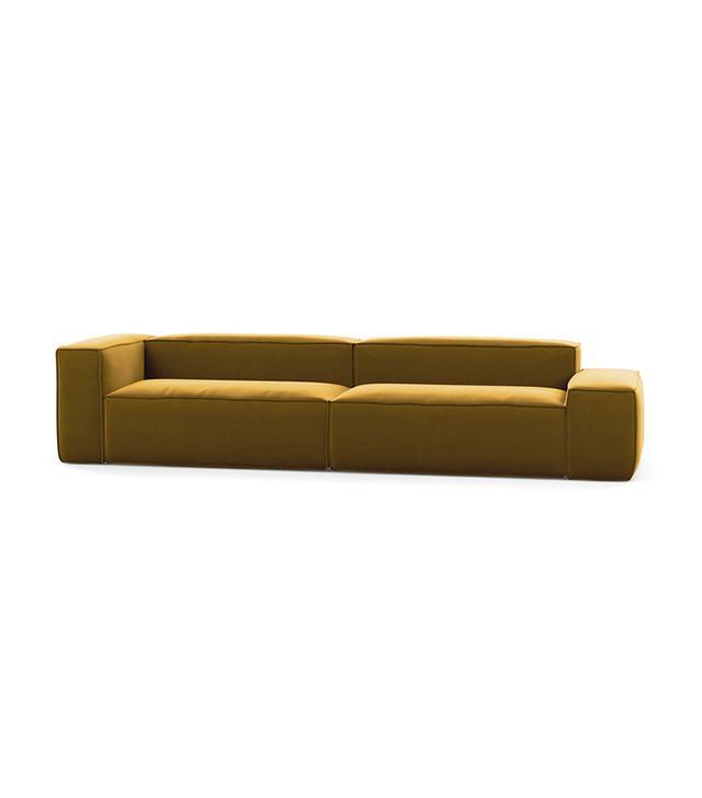 Interior Define Large Fabric Sofa