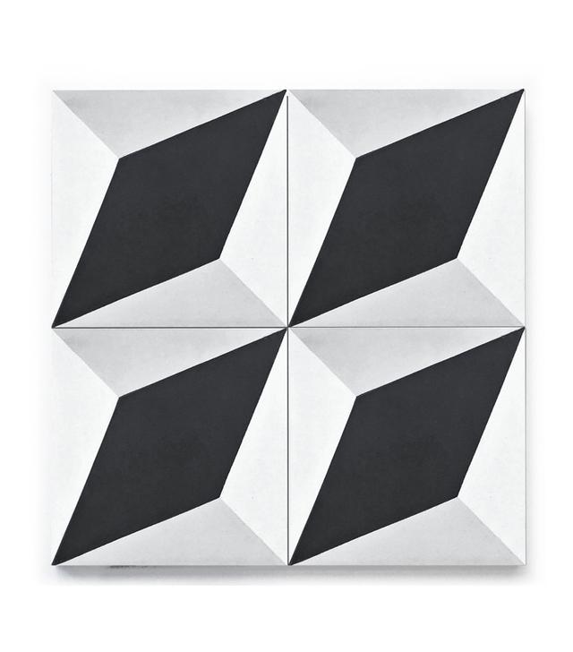 Clé Tile Diamond Twist Tile