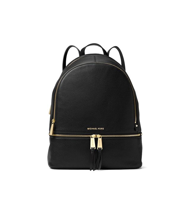 Michael Kors Rhea Large Leather Backpack
